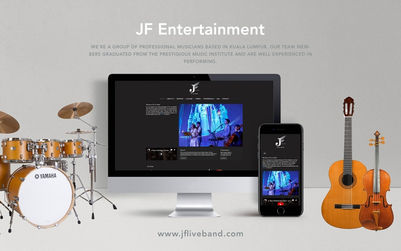 "<a href=""http://welcome.jfliveband.com"" target=""_blank"">JF Entertaiment</a>"