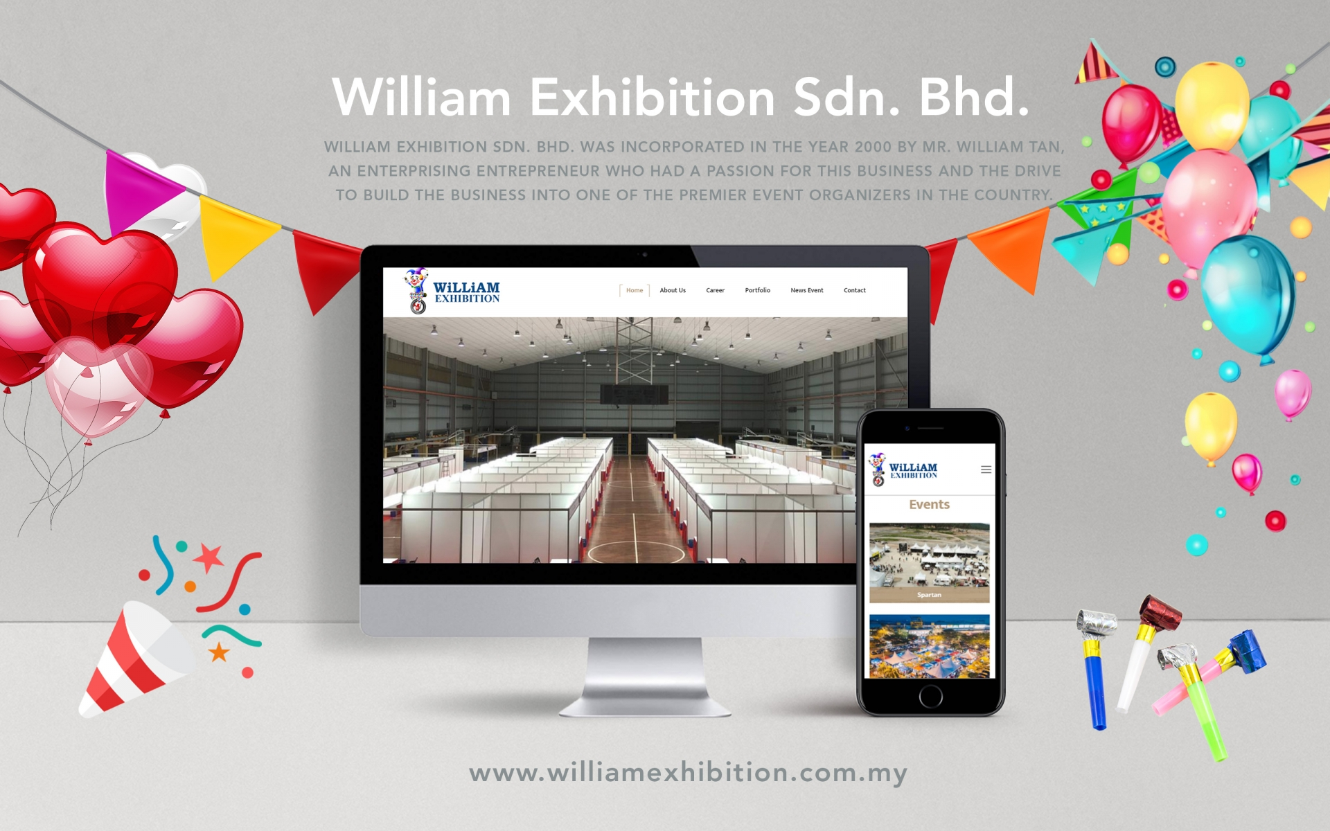 "<a href=""http://welcome.williamexhibition.com.my"" target=""_blank"">William Exhibition Sdn. Bhd.</a>"