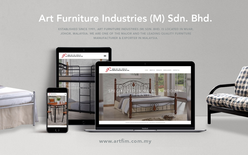 "<a href=""http://welcome.artfim.com.my"" target=""_blank"">Art Furniture Industries (M) Sdn. Bhd.</a>"